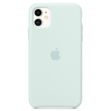 Чехол Apple Silicone Case (High Copy) - Seafoam (Морская пена) для iPhone 11
