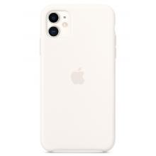 Чехол Apple Silicone Case (High Copy) - White (Белый) для iPhone 11