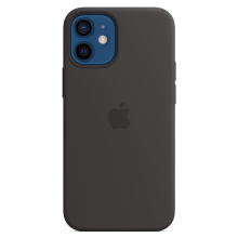 Чехол Apple Silicone Case (High Copy) - Black (Черный) для iPhone 12 Mini