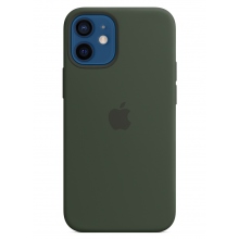 Чехол Apple Silicone Case (High Copy) - Cyprus Green (Зеленый) для iPhone 12 Mini