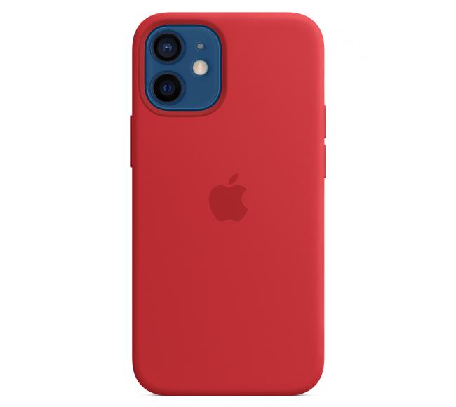 Чехол Apple Silicone Case (High Copy) - (PRODUCT)RED (Красный) для iPhone 12 Mini