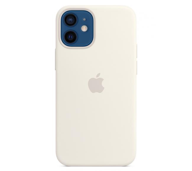 Чехол Apple Silicone Case (High Copy) - White (Белый) для iPhone 12 Mini