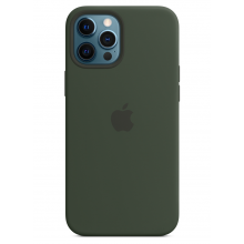Чехол Apple Silicone Case (High Copy) - Cyprus Green (Зеленый) для iPhone 12 Pro Max