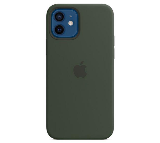 Чехол Apple Silicone Case (High Copy) - Cyprus Green (Зеленый) для iPhone 12 и 12 Pro