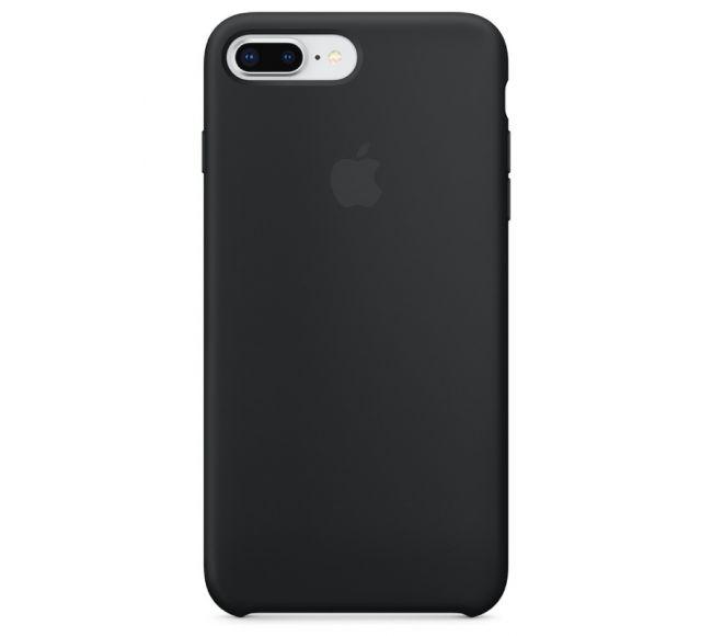 Чехол Apple Silicone Case (High Copy) - Black (Чёрный) для iPhone 8 Plus, 7 Plus