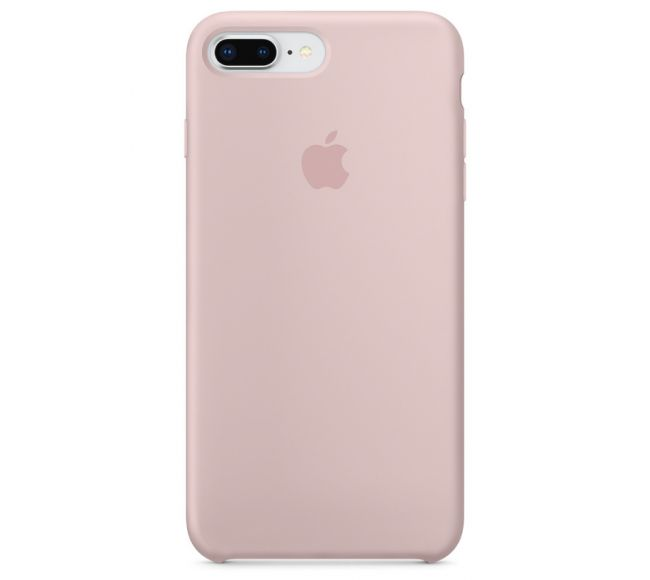 Чехол Apple Silicone Case (High Copy) - Pink Sand (Розовый песок) для iPhone 8 Plus, 7 Plus
