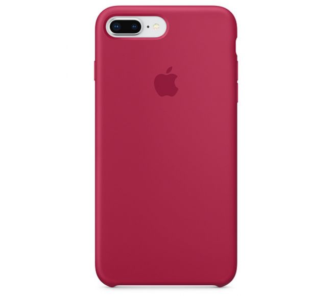 Чехол Apple Silicone Case (High Copy) - Red Rose (Красная роза) для iPhone 8 Plus, 7 Plus