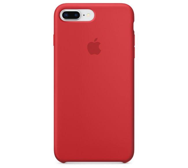 Чехол Apple Silicone Case (High Copy) - (PRODUCT)RED (Красный) для iPhone 8 Plus, 7 Plus
