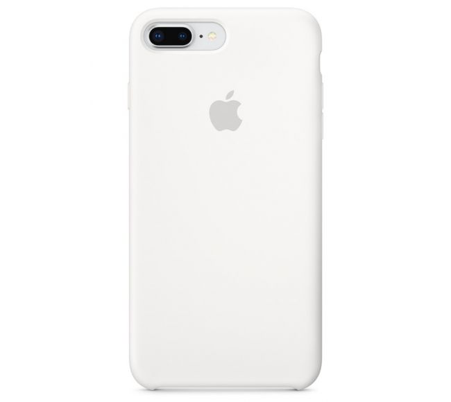 Чехол Apple Silicone Case (High Copy) - White (Белый) для iPhone 8 Plus, 7 Plus