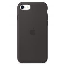 Чехол Apple Silicone Case (High Copy) - Black (Чёрный) для iPhone SE 2020