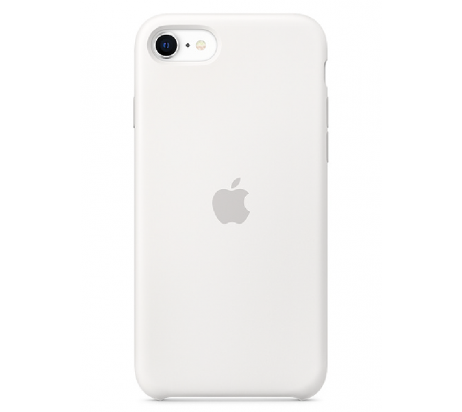 Чехол Apple Silicone Case (High Copy) - White (Белый) для iPhone SE 2020