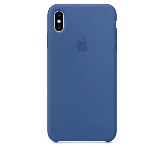 Чехол Apple Silicone Case (High Copy) - Dutch blue (Голландский синий) для iPhone XS