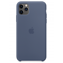 Чехол Apple Silicone Case (High Copy) - Alaskan Blue (Морской лёд) для iPhone 11 Pro Max