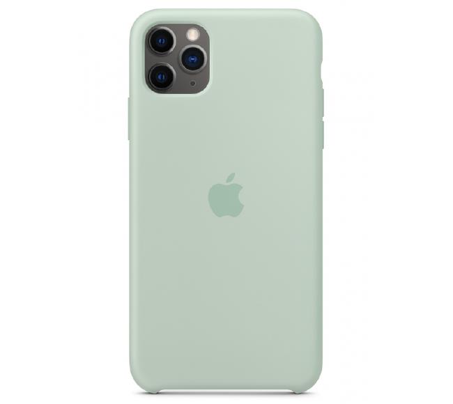 Чехол Apple Silicone Case (High Copy) - Beryl (Голубой берилл) для iPhone 11 Pro