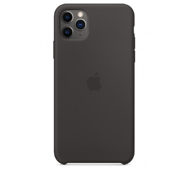 Чехол Apple Silicone Case (High Copy) - Black (Чёрный) для iPhone 11 Pro Max