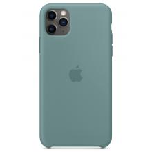Чехол Apple Silicone Case (High Copy) - Cactus (Дикий кактус) для iPhone 11 Pro