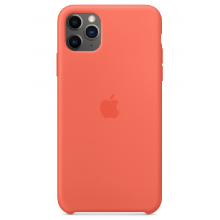 Чехол Apple Silicone Case (High Copy) - Clementine (Спелый клементин) для iPhone 11 Pro