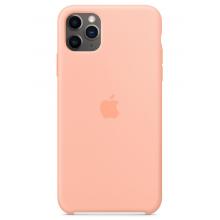 Чехол Apple Silicone Case (High Copy) - Grapefruit (Розовый грейпфрут) для iPhone 11 Pro Max