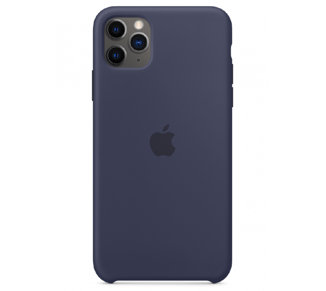 Чехол Apple Silicone Case (High Copy) - Midnight Blue (Тёмно-синий) для iPhone 11 Pro