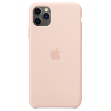 Чехол Apple Silicone Case (High Copy) - Pink Sand (Розовый песок) для iPhone 11 Pro Max