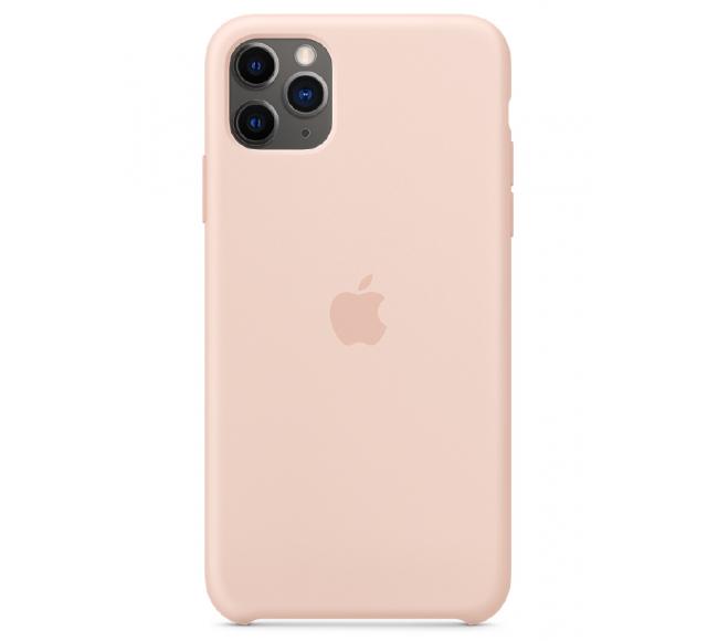 Чехол Apple Silicone Case (High Copy) - Pink Sand (Розовый песок) для iPhone 11 Pro