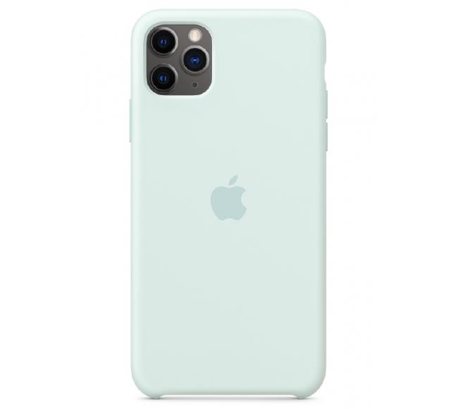 Чехол Apple Silicone Case (High Copy) - Seafoam (Морская пена) для iPhone 11 Pro Max