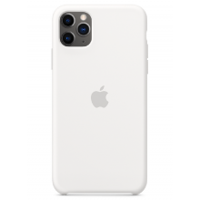 Чехол Apple Silicone Case (High Copy) - White (Белый) для iPhone 11 Pro