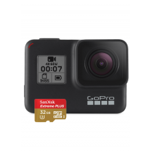 GoPro HERO 7 Black (CHDSB-701) + Карта памяти 32Gb